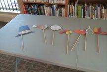 thanksgiving crafts / by Kerrice Wisbang-Scheich