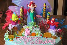 Adelynne's 4th Bday (mermaids and pirates) / by Rachel Bean