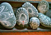 beach stones / by Paula Kochan Radl