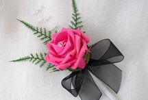Black and pink wedding / by Marlene Sims