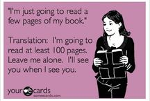 Reader Ecards / Because the only thing better than how we like reading is reading about how we like reading! Find more at: http://readerecards.com / by FireDept. Ebooks & Apps