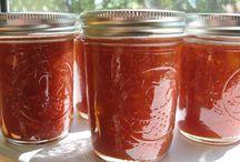 jams and jellies / by Arlene Grebenc