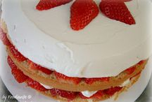 I love strawberries! (My tried & true recipes) / by A Feast for the Eyes Food Blog