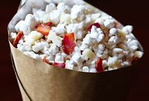 Popcorn Recipes / We love popcorn around here!  We watch alot of movies and make it for that, for game night and just for snacks. / by Kelly Walsh Hails