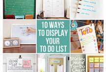 Organization is Key / by Jessica DiPietro