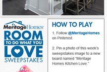 Meritage Homes Kitchen Love. / by Courtney Timmerwilke