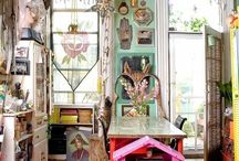 Workspace / Ideas for my home studio and workspace.  / by Kara Nelson