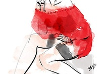 Fashion Sketches✏ / by Zoe Bara