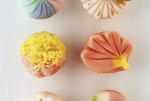 japan wagashi / 日本伝統の和菓子 / by shizuo Tyler kawano