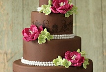 Chocolate Wedding Cakes / Cake / by Debbie Stewart Weddle