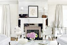 sitting living lounging room / by sarah   TheDeliciousLife