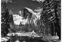 ANSEL ADAMS' World / My favorite photographer of all time.  My photographic hero and teacher.  / by Christine B Morris