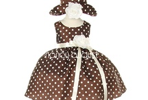 Brown Baby Dresses: NancyAugust.com / Why not make a fashionable statement and choose a brown baby dress? A brown baby dress is classic, chic, fashionable, but above all, it is a natural color. Brown is the ultimate color of nature! It is the color of earth, the color of skin and the color of trees! It is warm, calming, and even quite chic! With one of our brown baby dresses, your baby will look adorable and she may even become the next baby trendsetter! / by Nancy August Flower Girl Dresses