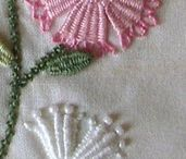 Embroidery - Wool Embroidery - Wool Appliqué. / by kerry adams