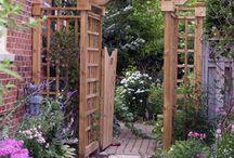 Arbor/Pergola/Trellis/Obelisk/Enclosure / by Pamela Ridgell