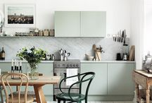 Decor - Dining / rooms to make food and rooms to eat food / by Sarah VanCamp Kern