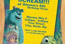 Monsters inc party / by Whittney Airey