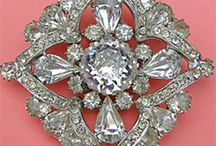 vintage jewelry ,,,,mostly / by Peggy Whitson