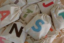 Muslin Bag Ideas / by ThePlaidBarn