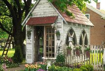 gardens and sheds / by Christina Sheehan
