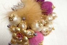 Bead accessories / Accessories which my mother made. / by Yumi Inoue