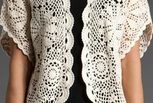 Beautiful crochet clothing / by Kristina Torre