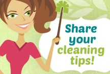 Cleaning Tips & Tricks / Homemade Cleaners, cleaning tips, spring cleaning, cleaning with vinegar, clean silver, how to clean wood floors, how to clean jewelry and more! / by Laurie ~ Tip Junkie