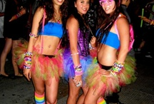 EDC Outfits and Fashion / All the cool and fashionable gear girls wear to Electric Daisy Carnival / by How To EDC