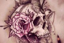 tatts&piercings  / by Cy Fiaui
