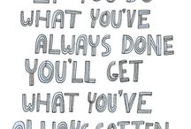 quotes/sayings / by Rebecca Buss