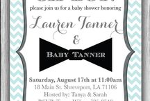 mustache bow tie shower or birthday party / by Kari Mack