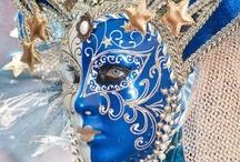 Masks,Carnival,Venetian. / by Nora Campillo