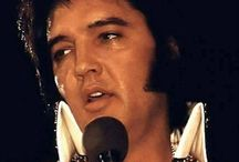 The King.......ELVIS......   : -) / I got the chance to see Elvis in the 70's... WOW.... I was speechless.... / by Sharon