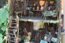 Fairy Houses  / by Dee Maples