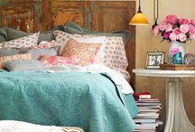 Rooms: Bedrooms / Peaceful and fun bedroom design / by Amy Fennell
