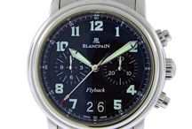 """Pre-Owned Blancpain / A Tradition of Innovation since 1735 Using the words """"tradition"""" and """"innovation"""" to describe the Blancpain philosophy is no contradiction in terms. On the contrary, the two are inextricably entwined at the very heart of brand history. / by Manfredi Jewels"""
