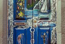 Doors/keys/knockers & knobs! / by Kathy Borino