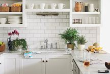 Exposed! Open Shelves in the Kitchen / Open shelving in the kitchen. / by H5 Decor