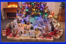 Christmas Villages and Ideas for display / by Kimm's pins