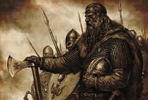 Vikings / The Viking Age (800–1050) was a period of major change across Europe. The Vikings expanded from their Scandinavian homelands to create an international network connecting cultures over four continents, where artistic, religious and political ideas met. / by Carola