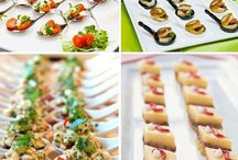 Reception food & drink ideas / by DestinationWeddings.com