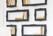 Bookshelves / by Cheryl
