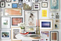 Gallery Wall / Framing inspiration for presenting your coveted art and photography.  / by Lonny Magazine