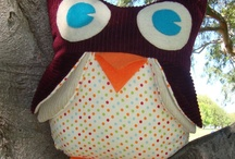 Fabric & Yarn Crafts / Sewing, crocheting, knitting... / by Sarah Jane Barba