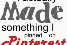 Pinned it, made it / by Kelly Cox