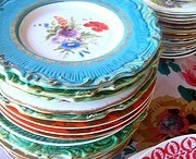 old dishes / by Ann Hall