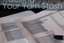 Tips to organize your stash / by Chix with Stix (Knitting - Lenoir, NC)
