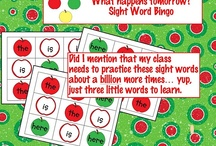 Sight Words / by Christie Carter Harrell
