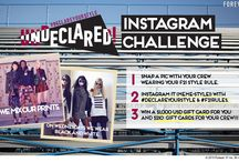 #DeclareYourStyle Instagram Challenge / Wanna win a $1,000 USD gift card? Snap you crew and #DeclareYourStyle!! Head over to our Instagram page or The Now Blog to get all the deets!  / by Forever 21