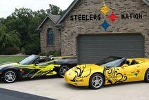 Steelers... / by Casey Hatton